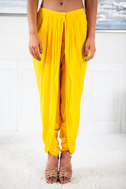 Dahlia Yellow Dhoti Suit