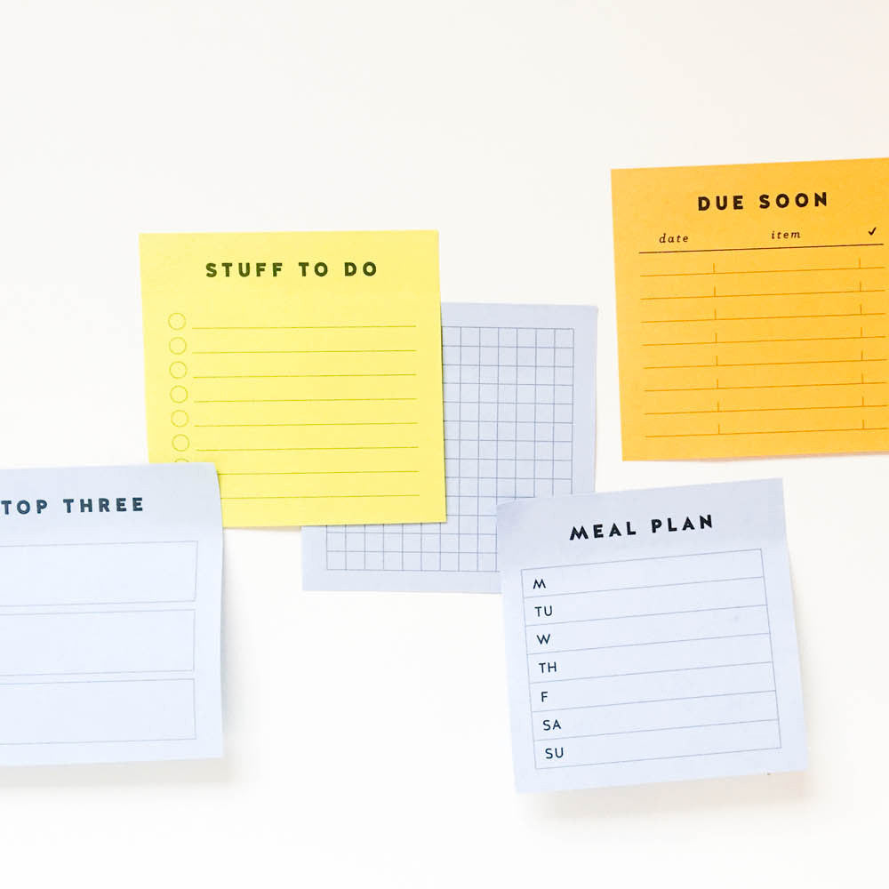 STICKY NOTE PRINTABLES
