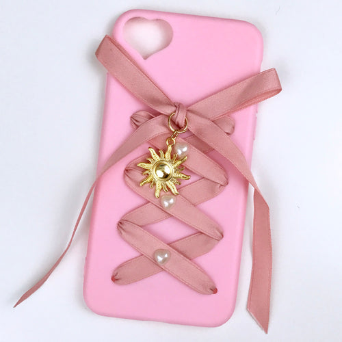 Pink Corset Iphone Case