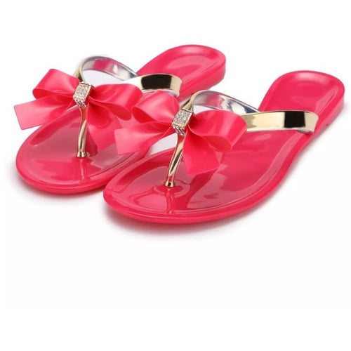 Limited Edition Candy Apple Jelly Sandals