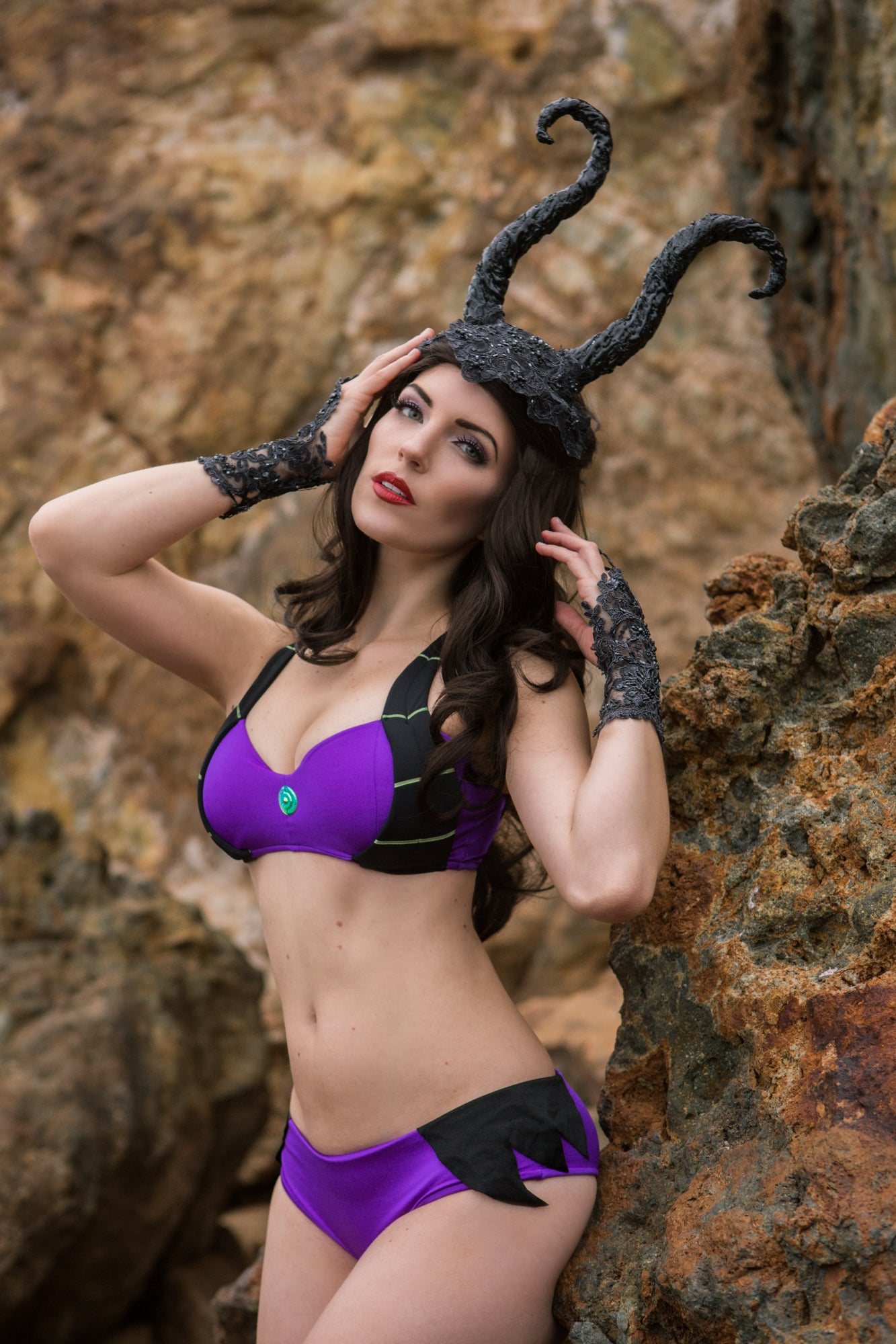 Dragon Horns Bikini Top - Limited Edition