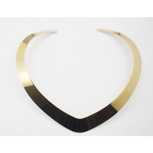 Golden Choker Necklace