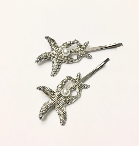 Starfish hairpin