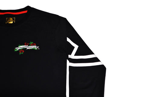 DBS Luxury Thorn Long Sleeve T Shirt (Black)