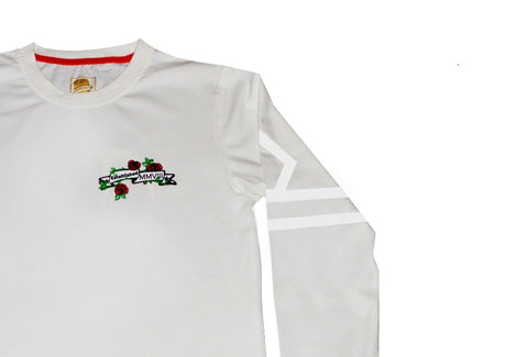 DBS Luxury Thorn Long Sleeve T Shirt (Off White)