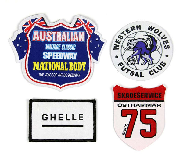 Woven Badges Custom Design 200x *High Definition