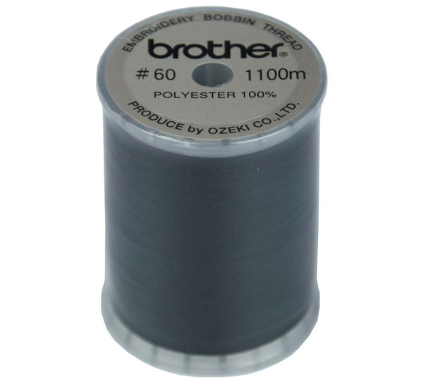 Brother Embroidery Bobbin Thread Black  #60 - 1100m