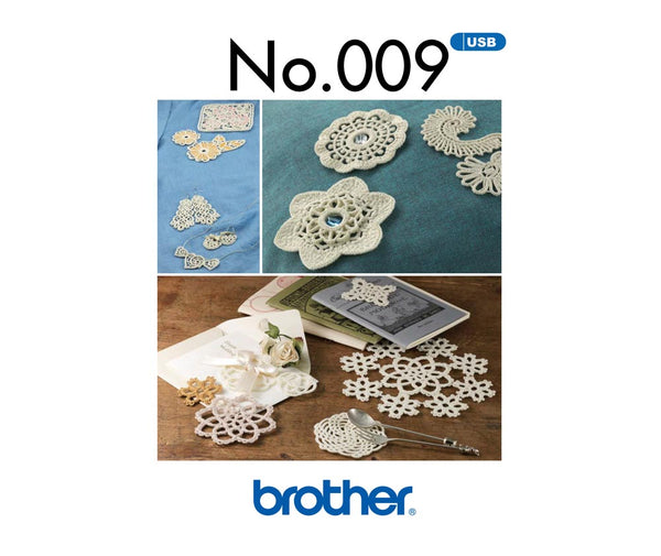 Brother Crochet Style Collection -  BLECUSB9