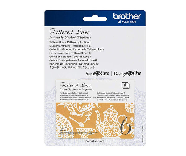 Brother Scan N Cut Tattered Lace Pattern Collection NO.6