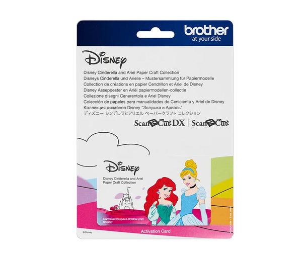 Brother ScanNCut Disney Cinderella And Ariel Design Collection - CADSNP07