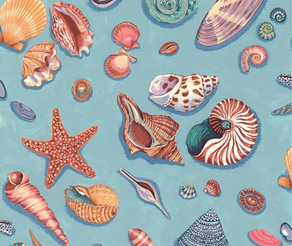 By The Sea 100% Cotton Fabric - 1/2 Metre