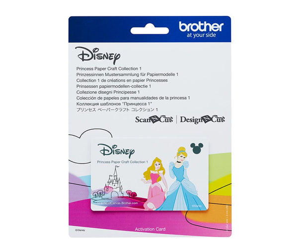 Brother ScanNCut Disney Princess Paper Craft Collection 1