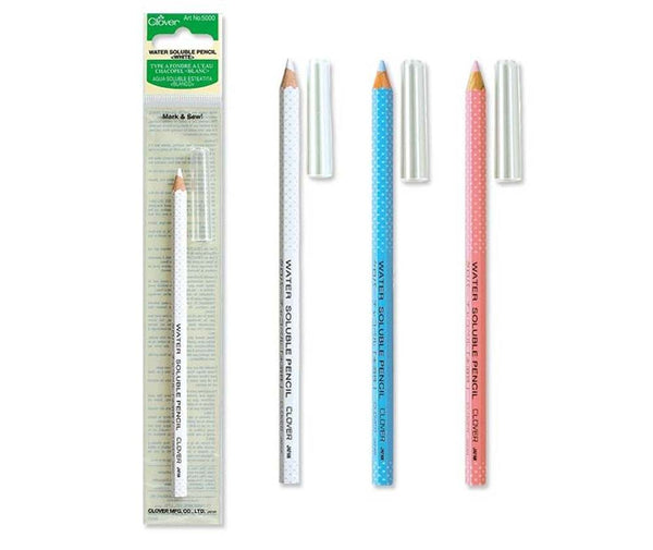 Clover Water Soluble Pencil (You Choose Colour)
