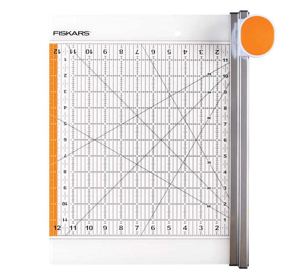 Fiskars Rotary Cutter and Ruler Combo (12