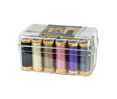 Gutermann 100m Cotton Thread Box - x18 100m Reels
