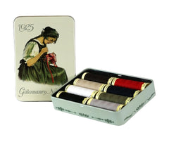 Gutermann Nostalgic Box - 100mt Sew-all x8 Reels