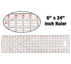 Imperial Quilting Ruler 6