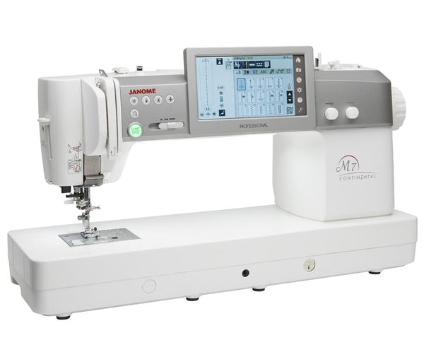 Janome Continental M7 Professional Quilting & Sewing Machine *New Model*