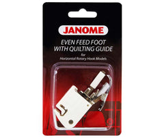 Janome Even Feed / Walking Foot With Guide