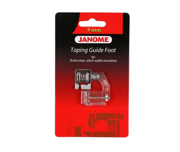 Janome Taping Guide Foot - 9mm - 202310008