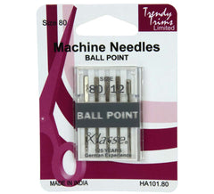 Klasse Domestic Sewing Machine Needles - Ball Point - Choose Size*