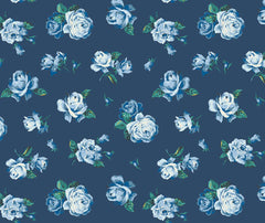 Liberty - Regent Rose 100% Cotton Fabric - 1/2 Metre