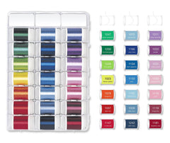 Madeira Classic Rayon 40x 1000m Embroidery Thread Box - Art 8042