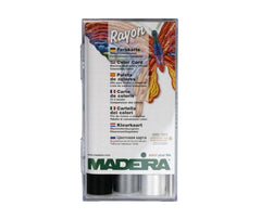 Madeira Classic Rayon 18x 200m Embroidery Thread Box - Art.8040