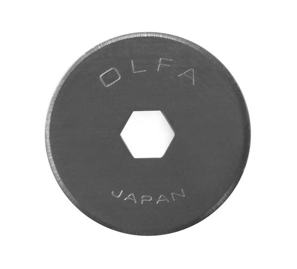 OLFA® 18mm Rotary Cutter Blade, 2-Pack