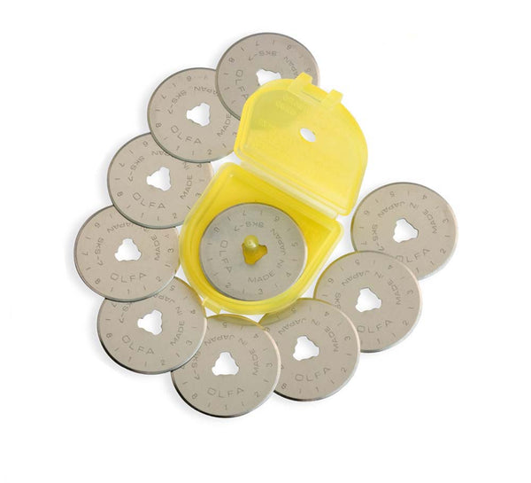 Olfa 28mm Rotary Cutter Blade - 10 Pack