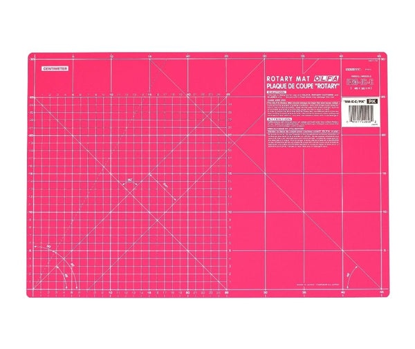 Olfa 12″ X 18″ Pink Double Sided Cutting