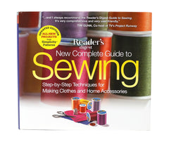 Reader's Digest New Complete Guide to Sewing Book