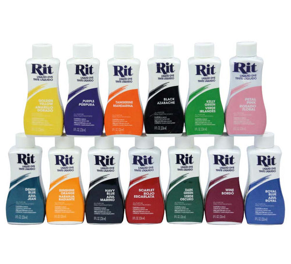 Rit Liquid Dye 34 Colours To Choose From Sew It
