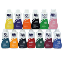 Rit Liquid Dye - 14 Colours to Choose From