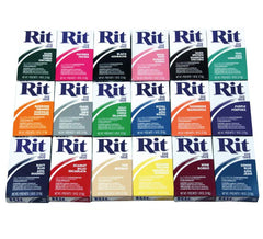 RIT POWDER DYE - 20 COLOURS TO CHOOSE FROM