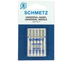 Schmetz Domestic Sewing Machine Needles Universal Assorted