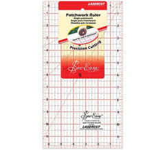 Sew Easy Patchwork Ruler 6.5