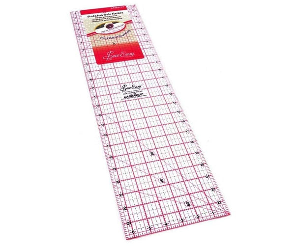 Sew Easy Patchwork Ruler 24