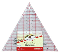Quilting/Patchwork 60 Deg Imperial Triangle Ruler 8