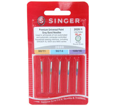 Embroidery Domestic Needles For Woven Fabric Mixed Pack