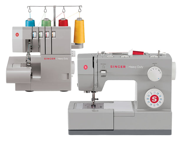 Singer Heavy Duty Combo 4423 Sewing Machine & 14HD854 Overlocker