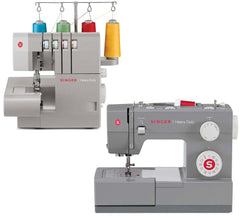 Singer Heavy Duty Combo 4432 Sewing Machine & 14HD854 Overlocker*