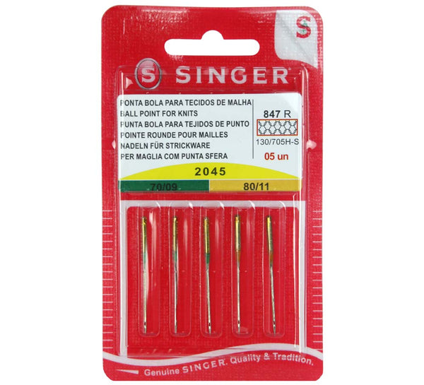 Singer Ball Point Needles - 2045 - 70's- 80's