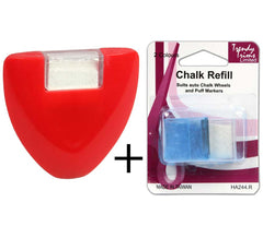 Chalk Wheel Plus 2x Refills *4 Tracing onto Fabric