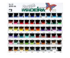 Madeira Rayon #40  - Embroidery Thread 200m - Select from 60 Colours