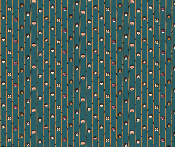 Figo - Treehouse 100% Cotton Fabric - 1/2 Metre
