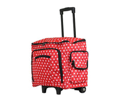 Sewing Machine Trolley Bag - Polka Dot