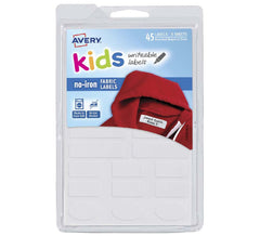 Fabric Labels - Kids Writable Labels by Avery