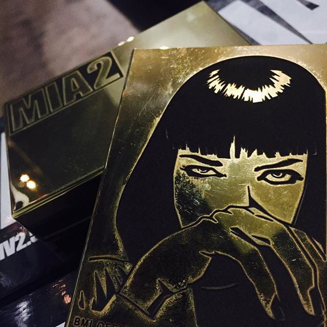 BMI - THE MIA2 BOX MOD (Brass w//18K Inner Plate) - THE VAPE SITE