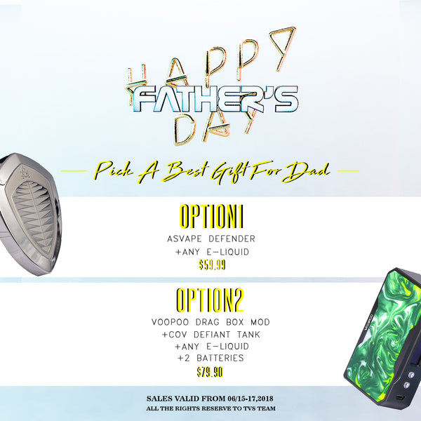 FATHER'S DAY BUNDLE - THE VAPE SITE - THE VAPE SITE